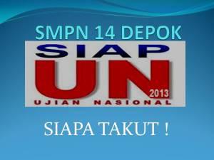 SMPN 14 DEPOK