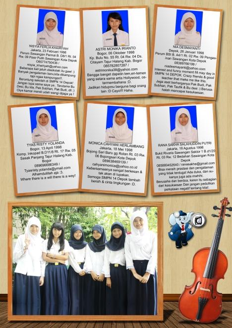 Album Kenangan SMPN 14 Depok 2013 | Sahabat SMPN 14 Depok