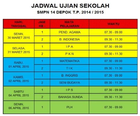 JADWAL US-crop